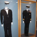 Naval Uniforms Display