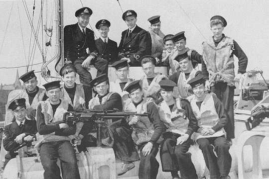 MTB 461, May 1944. (PA 176740)