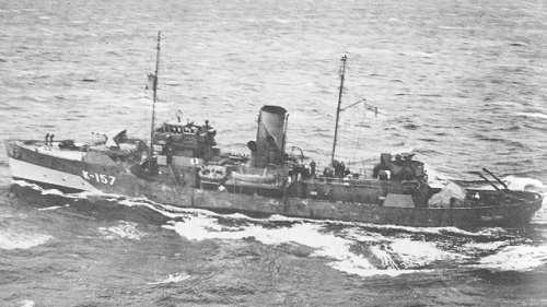 HMCS DAUPHIN, 1941 - Flower Class Corvette