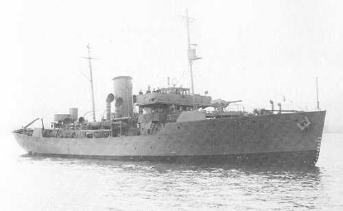 HMCS MORDEN, 1941 - Flower Class Corvette