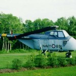 Sikorsky HO4S. Located at the Air Park at Shearwater. Photo by Brian Mutcher.