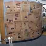 Display of Newspaper Headlines
