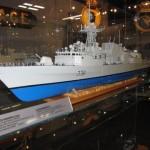 Model of HMCS Winnipeg