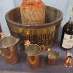 Display of Rum and Tot Paraphernalia