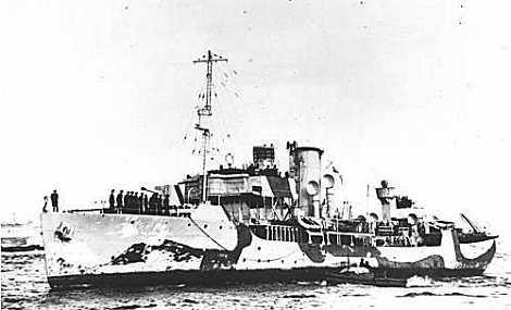 HMCS BRANDON - Flower Class Corvette