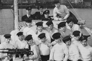 Crew of MTB 459, May 1944. (PA 108024)