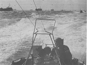 The 29th MTB Flotilla en route to Normandy. (PAC PA 144576)