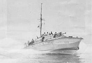 MTB 459 of the 29th Canadian MTB Flotilla