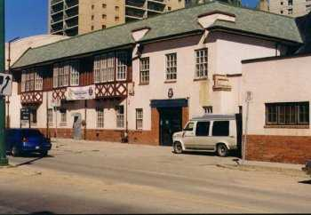 The CHIPPAWA Building, at 51 Navy Way, as it looked in 1998. The building was demolished in the fall of 1998 to make way for a new Naval Reserve training facility which has been built on the same site.