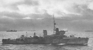 HMCS PORTAGE - Algerine Class Minesweeper