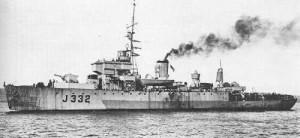 HMCS ST. BONIFACE - Algerine Class Minesweeper