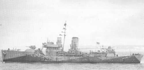 HMCS THE PAS, 1941 - Flower Class Corvette