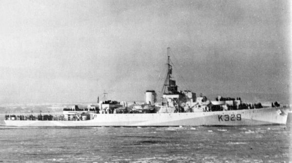 HMCS VALLEYFIELD
