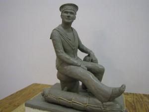 Prairie Sailor Statue